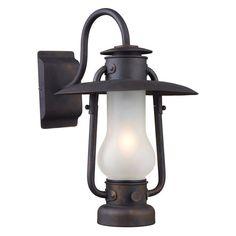 ELK Lighting 65004-1 Chapman 1-Light Sconce - 13W in. Matte Black - 65004-1