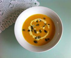 Rezept Hokkaido - Kürbiscremesuppe mit Ingwer von Petra1302 - Rezept der Kategorie Suppen