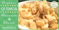 Organic Quinoa Macaroni and Cheese