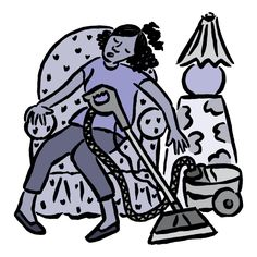 This is how I feel when I am trying to clean... Fibromyalgia