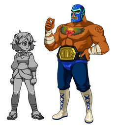 Here's a look at how Guacamelee's Juan will look in Indivisible! We can't make this any of these amazing crossovers happen without your support, so please contribute to the Indiegogo campaign if you. Character Design References, Game Character, Character Concept, Concept Art, Character Illustration, Illustration Art, Arte Assassins Creed, Wrestling Games, Arte Nerd