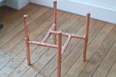 DIY Raised Copper Pipe Plant Stand | eHow