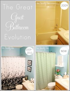 Guest Bathroom Reveal and Makeover {DIY} - Two Twenty One