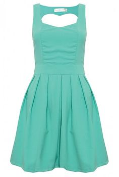 aqua dress..... so cute