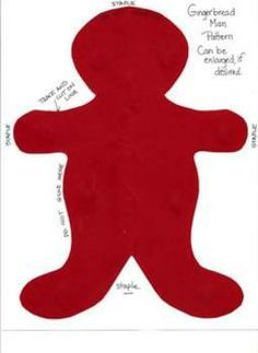 Christmas Gingerbread Man Craftivity