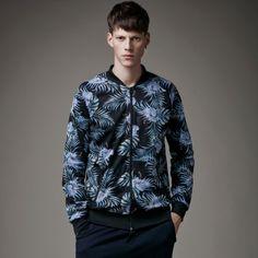 980773e7dca Leaves jacket XXXL mens bomber jacket for autumn wear