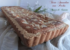 tarte frangipane aux peches