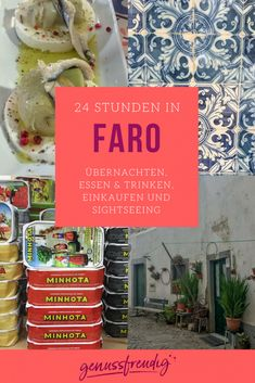 24 Stunden in Faro, Portugal - meine Tipps rund um Übernachten, Essen & Trinken, Einkaufen und Sightseeing
