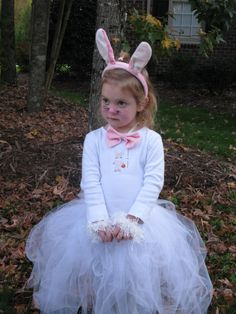 Bunny Costume idea. Cute makeup