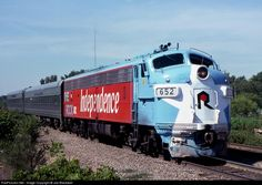 RailPictures.Net Photo: CRIP 652 Rock Island Railroad EMD E8(A) at Blue Island, Illinois by Joe Blackwell