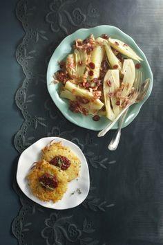 Aardappelpoffers met gekruide cranberry's - Boodschappen
