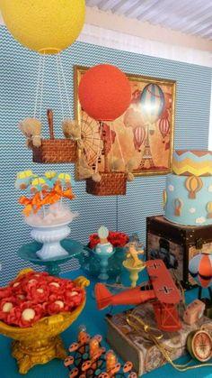 Hoje no blog tem esta Festa Viagem dos Brinquedos!!Venha se apaixonar por esta linda decoração.Imagens Nana Shara Coutinho Leandro.Lindas ideias e muita inspiração.Bjs, Fabíola Teles.Mais idei...