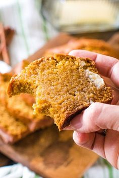 This is the best pumpkin bread ever! This is the best pumpkin bread ever! Tender, moist and delicious and loaded with warm spices. It's just like your Mom used to make! This Classic Pumpkin Bread recipe will make you two loaves to snack on all fall! Pumpkin Loaf, Moist Pumpkin Bread, Baked Pumpkin, Pumpkin Spice, Best Pumpkin Bread Recipe Ever, Pumpkin Recipes, Fall Recipes, Sweet Recipes, Pumpkin Deserts