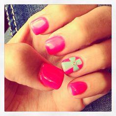 Cute cross nails