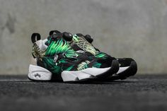 Reebok Instapump Fury x Jungle Gurl Reebok brings us some tropical vibes with its latest collaboration with California-based Jungle Gurl. Jungle Gurl is a beachwear label known for using vintage fabrics to create one-of-a-kind pieces. The contrast...