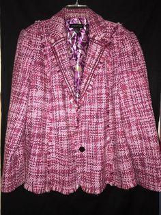 Vintage seth thomas mid century modern wall clock midtown e685 132 mcm lane bryant ladies wool blazer jacket size 22 pink fall casual dinner plus gumiabroncs Image collections