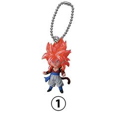 Gashapon Strap Broly UDM The Best 24 par Bandai Dragon Ball Z DBZ