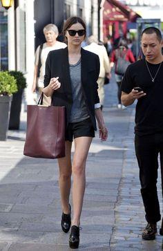 Miranda Kerr - Miranda Kerr and Orlando Bloom in Paris
