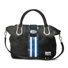 "Indianapolis Colts ""Crossroads City Chic"" Handbag #Colts #NFL"