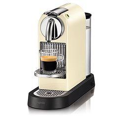 Mine! :) Nespresso Magimix Citiz coffee machine cream.