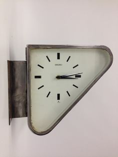 Vintage Original Large Triangular Polished Seiko by AnyOldLights