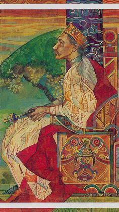 IV - L'empereur - Tarot cristal par Elisabetta Trevisan