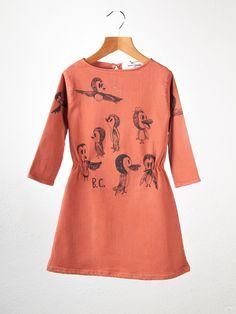 Bobo Choses bird dress.  #girls #designer #fashion