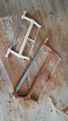 Meine neue selbstgemachte Gestellsäge Clothes Hanger, Homemade, Coat Hanger, Clothes Hangers, Clothes Racks