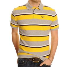 Stylish exclusive polo #shirts collection from Barbour