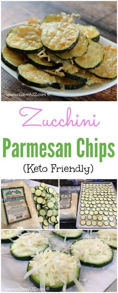You're veggies just got an UPGRADE!!! Absolutely DELICIOUS Zucchini Parmesan Chips (Keto friendly recipe)
