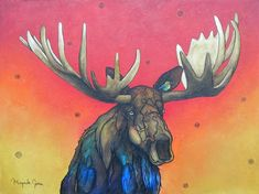 """A Majestic Friend"" by Micqaela Jones at Beartooth Gallery Fine Art in Red Lodge, Montana"