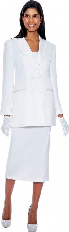 69f50a09ae8 Women usher suit by GMI. Double-breasted jacket with a notched collar and  slimming inset waist