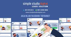 jasa iklan facebook ads tertarget simple studio digital call/ wa 0812-8490-8806