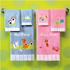 Ultra Soft Baby Towel Set | Lillian Vernon - Gifts for Kids | Lillian Vernon
