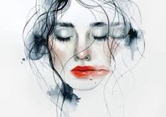 Tips on recognizing empathy and ways to manage emotions during trying times Watercolor Face, Selfish, Types Of Art, Art School, Art Reference, Illustration Art, Drawings, Artwork, Faces