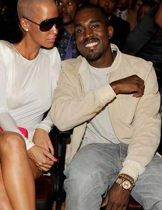 Kanye West wearing Rolex