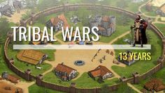 In 2003 the first version of Tribal Wars was launched, but the game was in german at first. After the game went popular in Germany, InnoGames released an international version of the game in 2006....