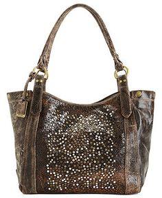 Frye Handbag, Deborah Shoulder Bag - All Handbags - Handbags & Accessories - Macy's Bags Online Shopping, Online Bags, Mac, Brown Leather Purses, Textiles, Fashion Handbags, Handbag Accessories, Purses And Bags, Kate Spade