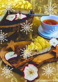 * Winterliche Apfel-Rosen-Torte * | Geschmacks-Sinn: http://www.geschmacks-sinn.de/?p=2567