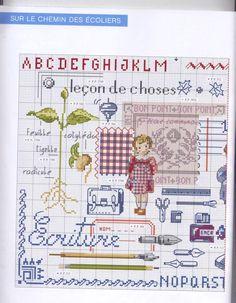 ru / Foto n º 45 - 1 - lutarcik Cross Stitch For Kids, Cross Stitch Books, Cross Stitch Love, Cross Stitch Alphabet, Cross Stitch Samplers, Cross Stitching, Cross Stitch Embroidery, Cross Stitch Patterns, Stitches Wow