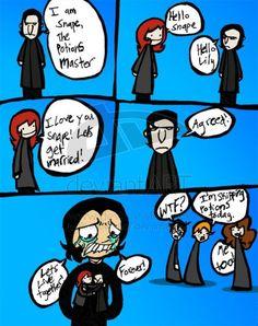 Severus Snape, Lily Potter