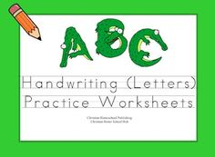 What FUN! An Alligator themed Handwriting Practice download. Plenty of practice with upper and lower case letters. #homeschool #preschool #handwriting