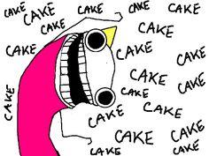 Hyperbole and a Half: The God of Cake