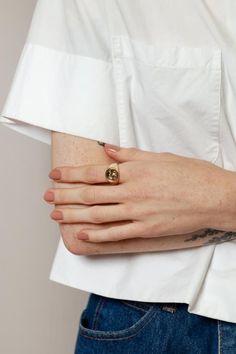 Make an original manicure for Valentine's Day - My Nails Minimalist Nails, Cute Nails, Pretty Nails, Thanksgiving Nails, Manicure Y Pedicure, Stylish Nails, Elegant Nails, Nail Arts, Spring Nails