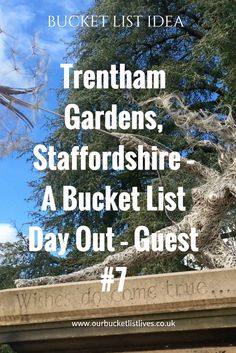 Trentham gardens in Staffordshire. Bucket list day out. Guest series - post #7