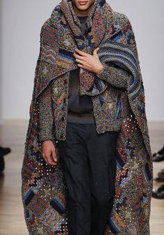 Missoni Men / F/W 2014 / High Fashion / Ethnic & Oriental / Carpet & Kilim & Tiles & Prints & Embroidery Inspiration /