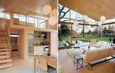 Bambú, el ingrediente básico para una casa de invitados en Connecticut|Espacios en madera