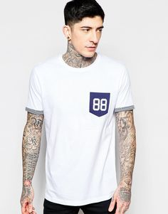 Brave+Soul+88+Print+Pocket+T-Shirt