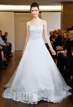 Brides.com: Isabelle Armstrong - Spring 2015. Wedding dress by Isabelle Armstrong