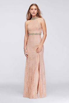 7595e03019dcb8 My New Favorite! www.davidsbridal.com 10823224 Blush Prom Dress